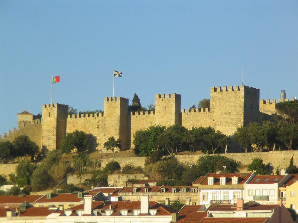Lizbona - Zamek św. Grzegorza
