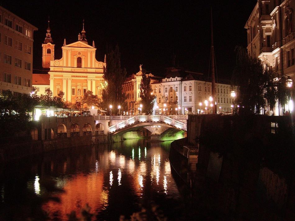 Lublana - plac Prešerena