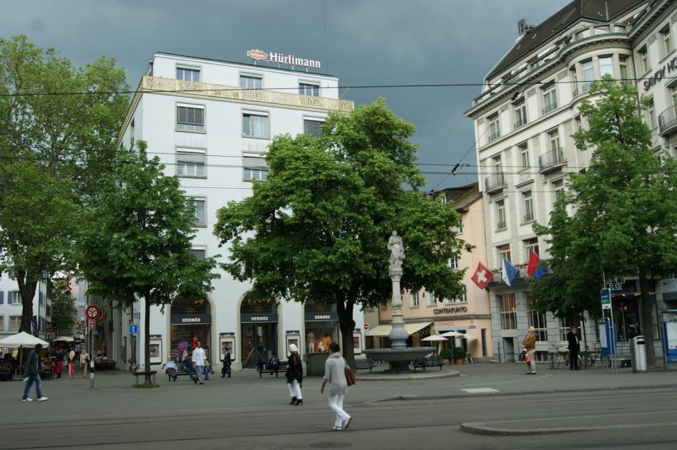 Ulica Bahnhofstrasse
