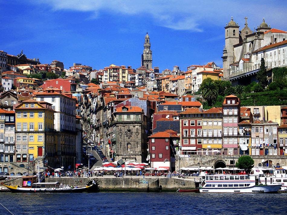 Porto - Kolorowe domki
