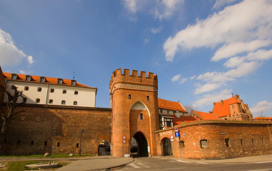 Mury obronne w Toruniu