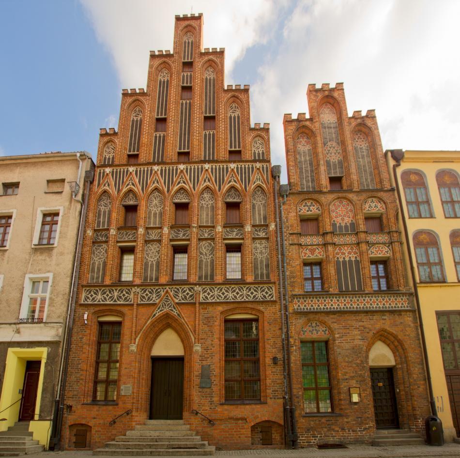 Dom i pomnik Mikołaja Kopernika w Toruniu