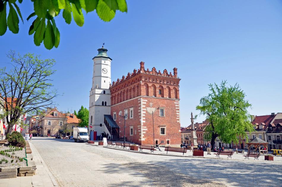 Ratusz w Sandomierzu