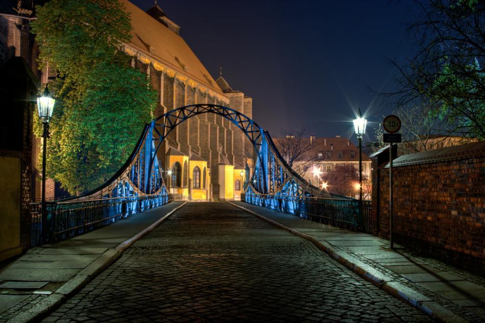 Mosty i kładki we Wrocławiu