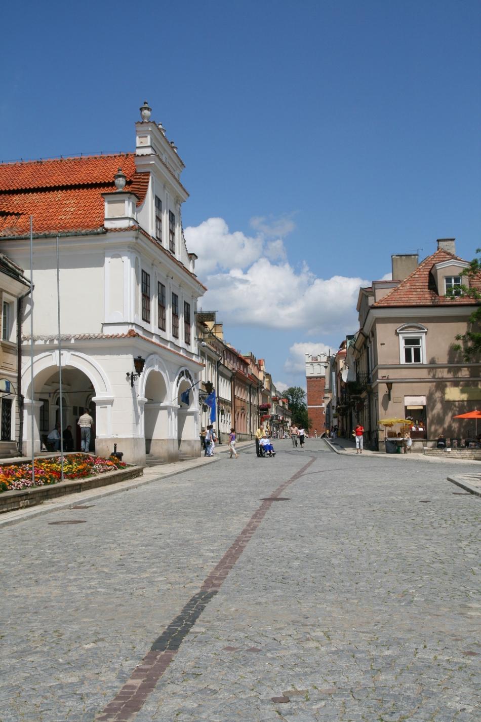 Kamienice na Starym Rynku w Sandomierzu