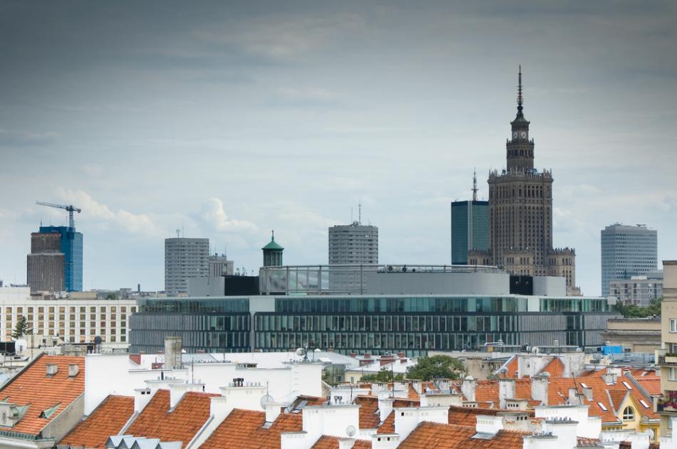 Pa�ac Nauki i Kultury w Warszawie