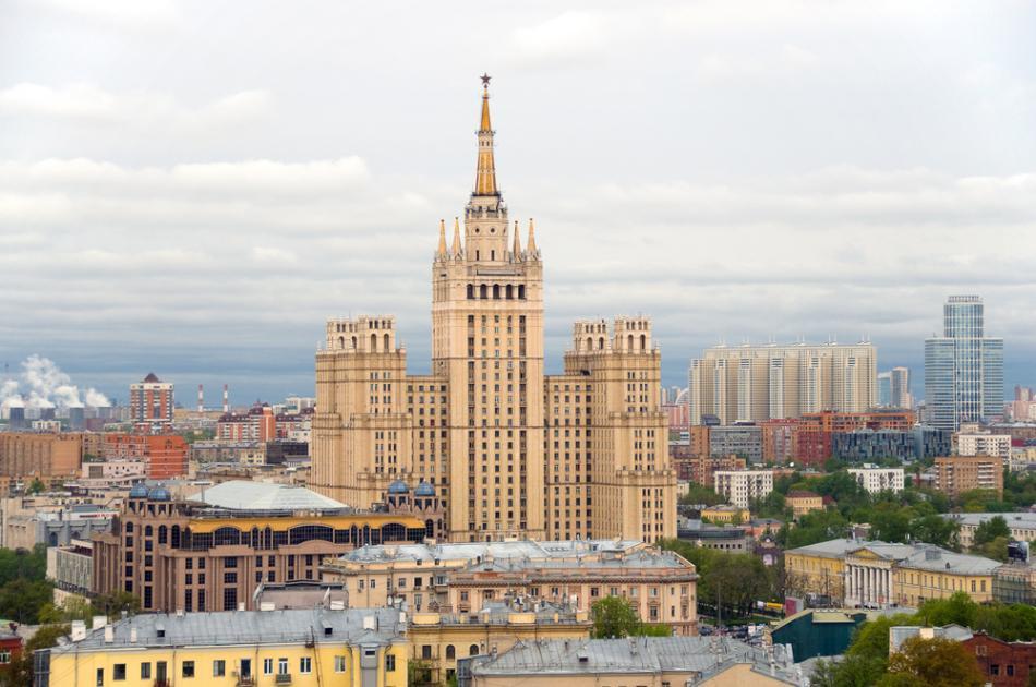 Blok mieszkalny Kudrinskajan