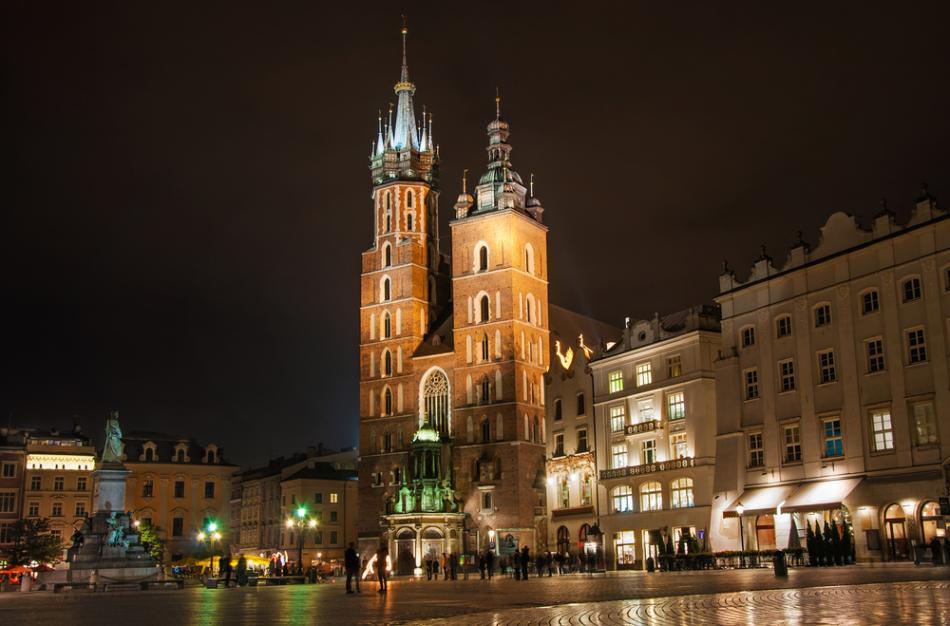 Rynek G��wny w Krakowie