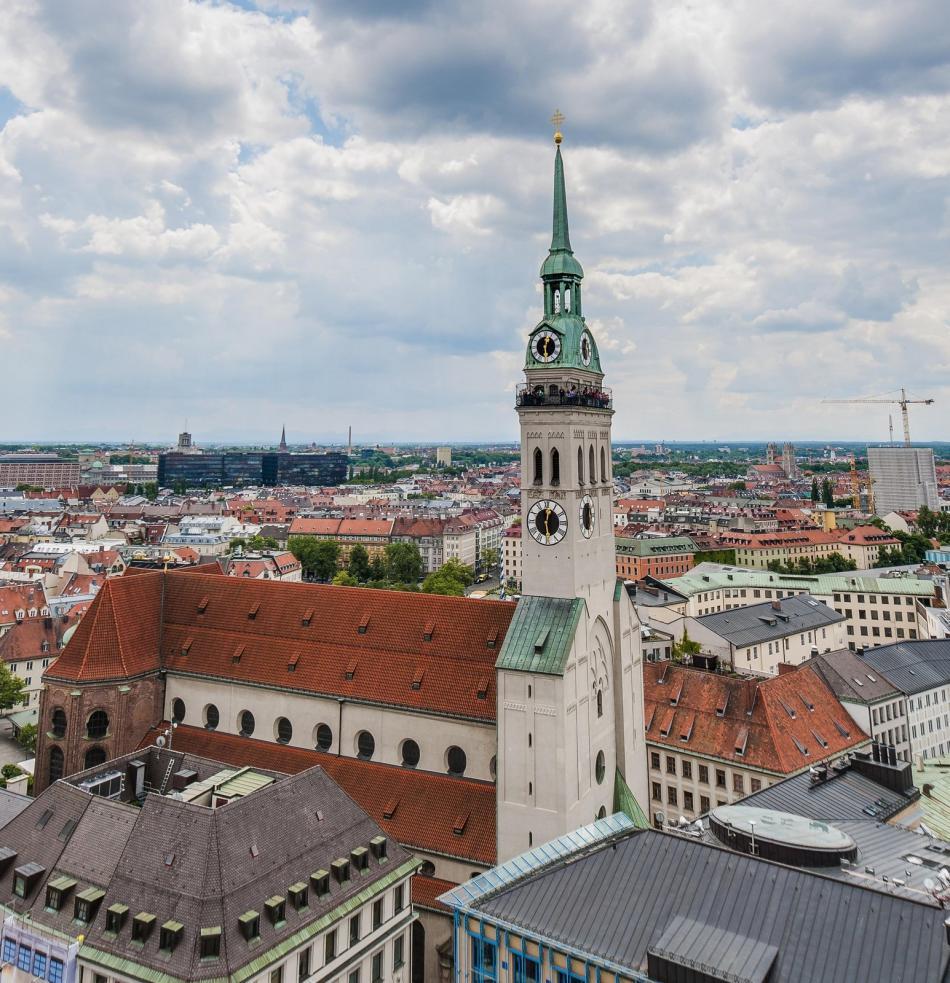 Kościół Św. Piotra w Monachium