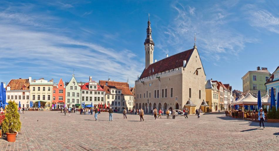 Starówka w Tallinie