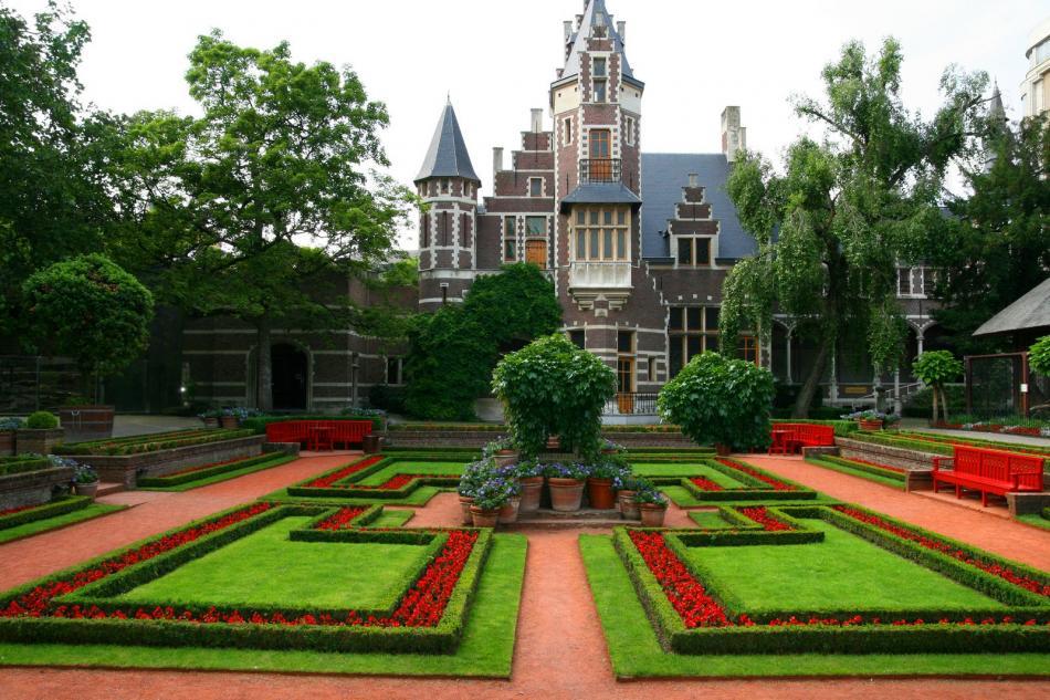 Antwerpia - Ogród w zoo