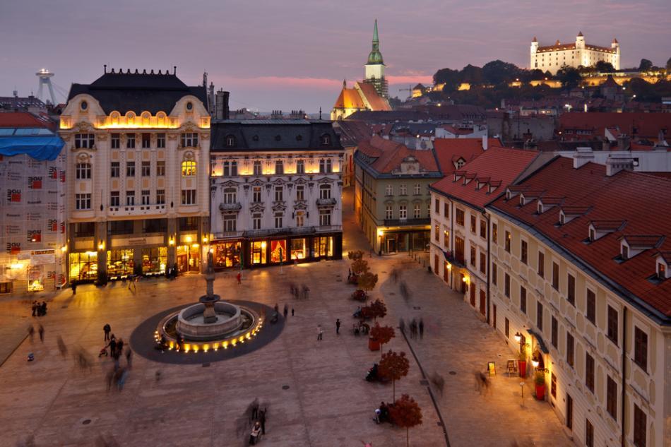 Rynek główny w Bratysławie