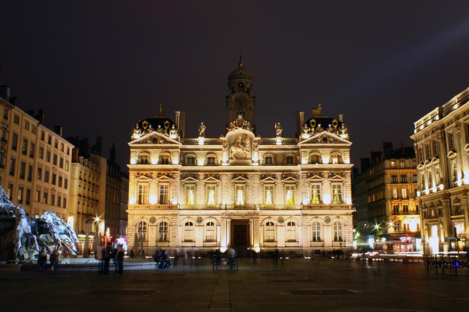 Hotel de Ville w Lyonie
