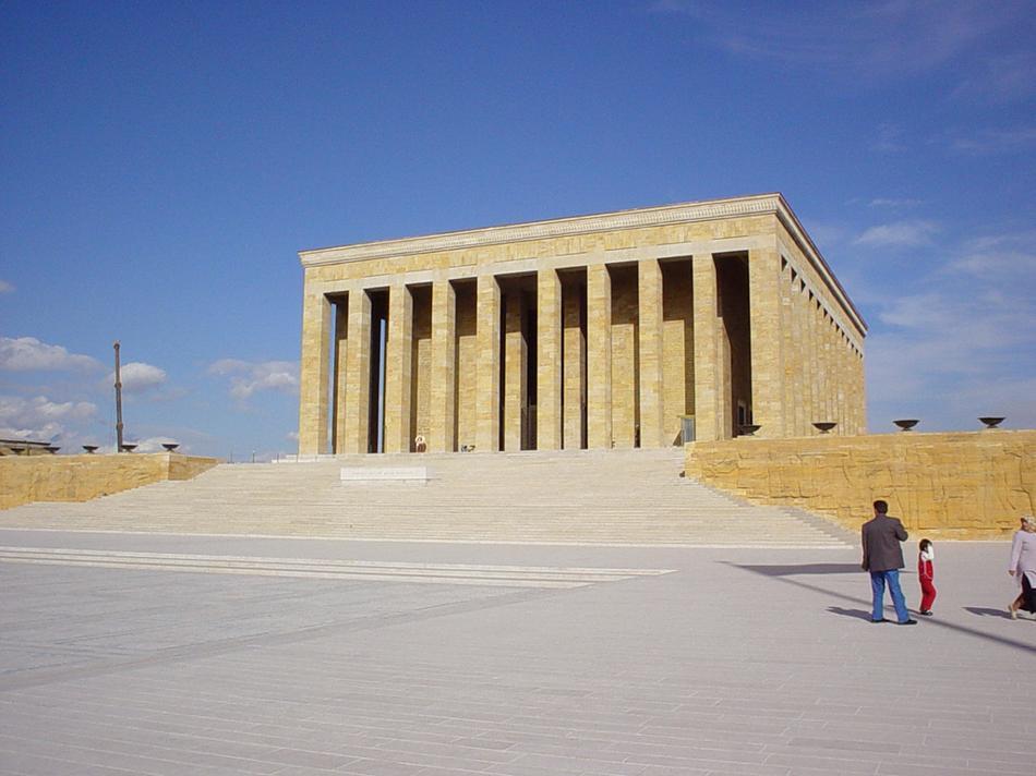 Ankara - Mauzoleum Ataturka