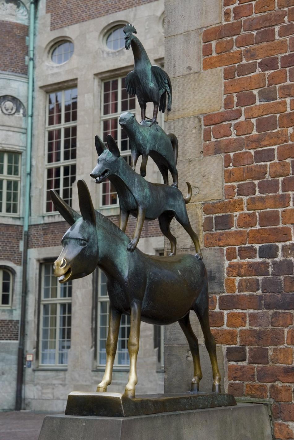 Pomnik Czterech Muzykantów z Bremy
