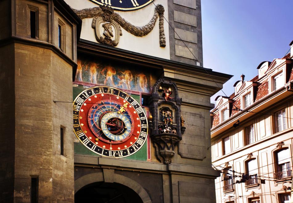 Wieża zegarowa w Berno