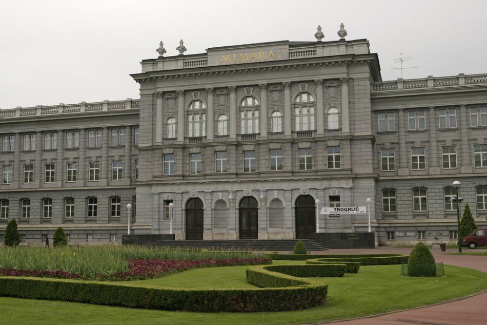 Muzea w dzielnicy Donji Grad w Zagrzebiu