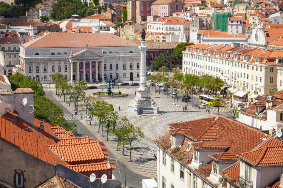 Dolne Miasto w Lizbonie