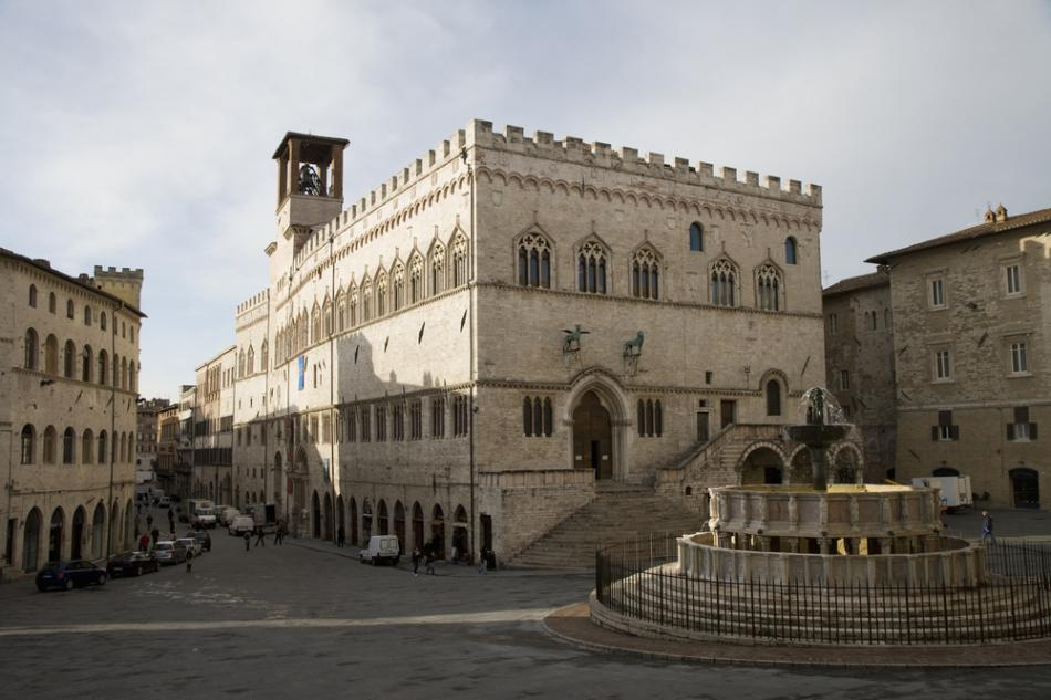 Palazzo dei Priori w Perugii