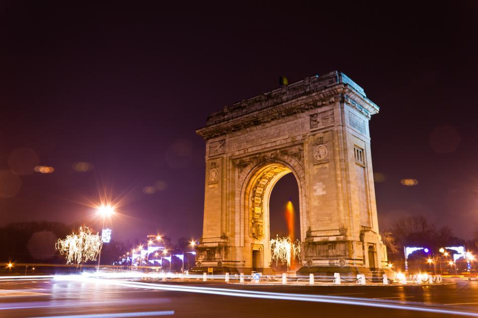 Łuk triumfalny w Bukareszcie