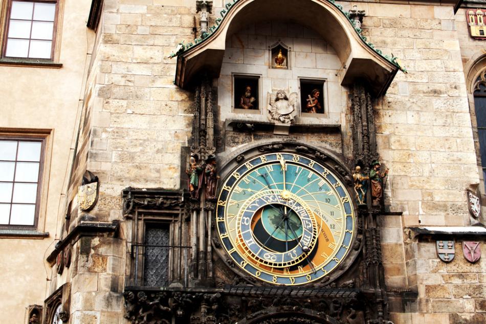 Staromiejski zegar astronomiczny