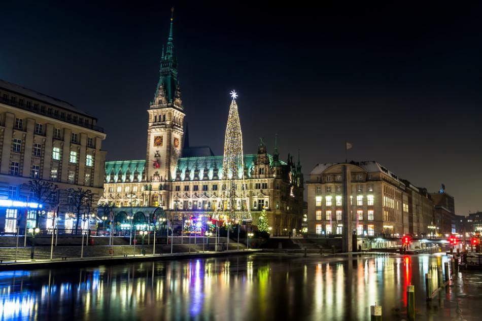 Ratusz w Hamburgu