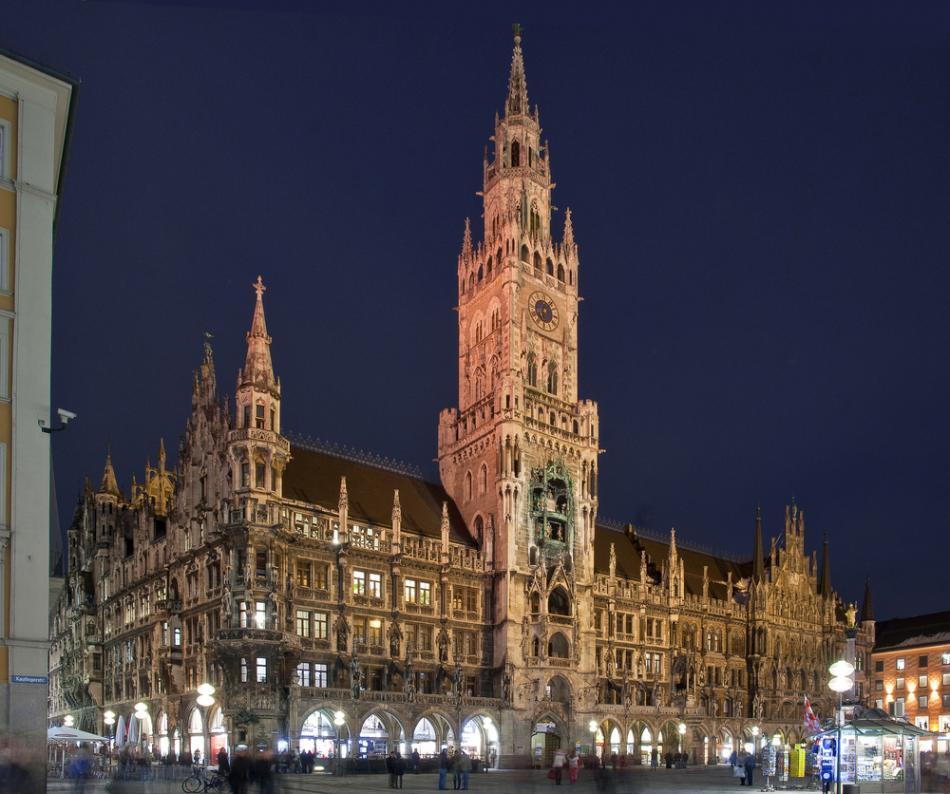 Nowy Ratusz w Monachium