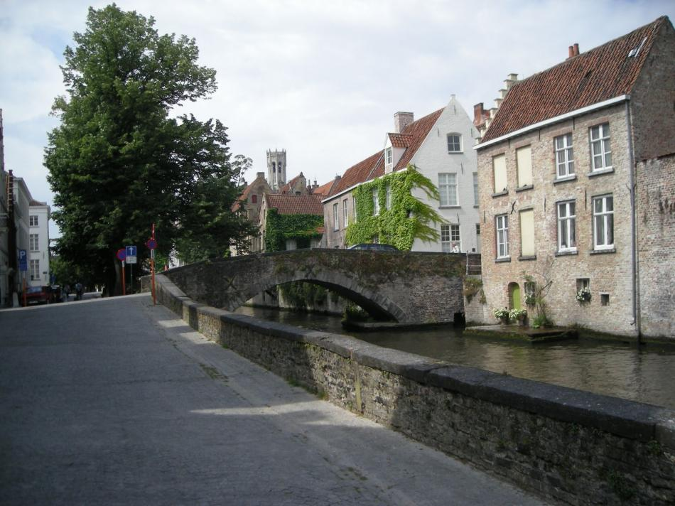 Kanały w Brugii