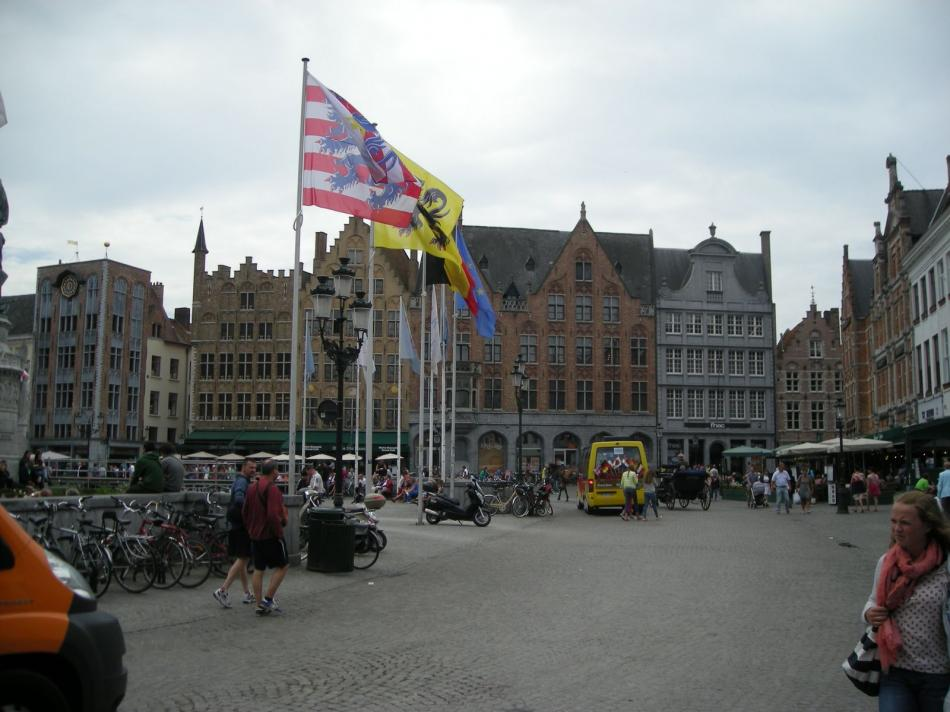 Rynek w Brugii