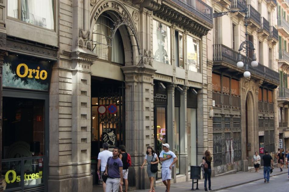 Starówka w Barcelonie