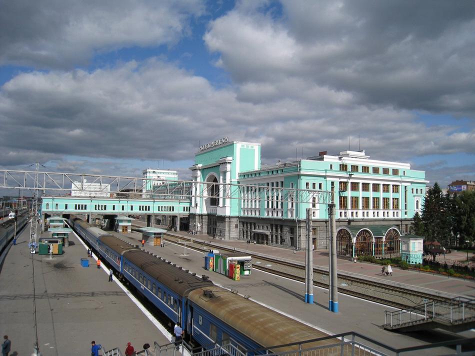 Nowosybirsk - Dworzec kolejowy