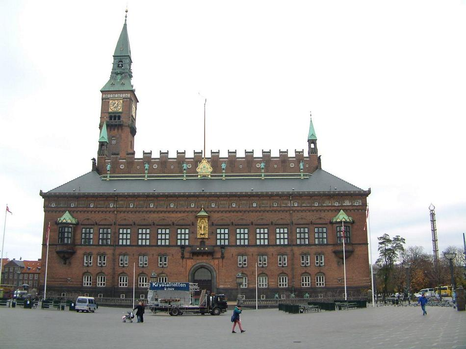 Kopenhaga - Ratusz