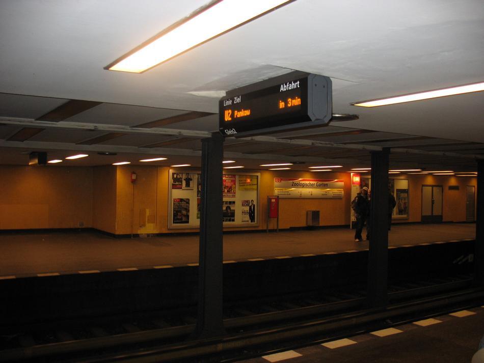 Berlin - Berlińskie metro