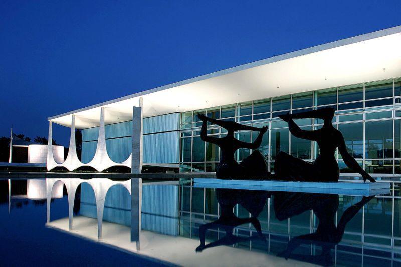 Brasilia - Pałac Alvorada