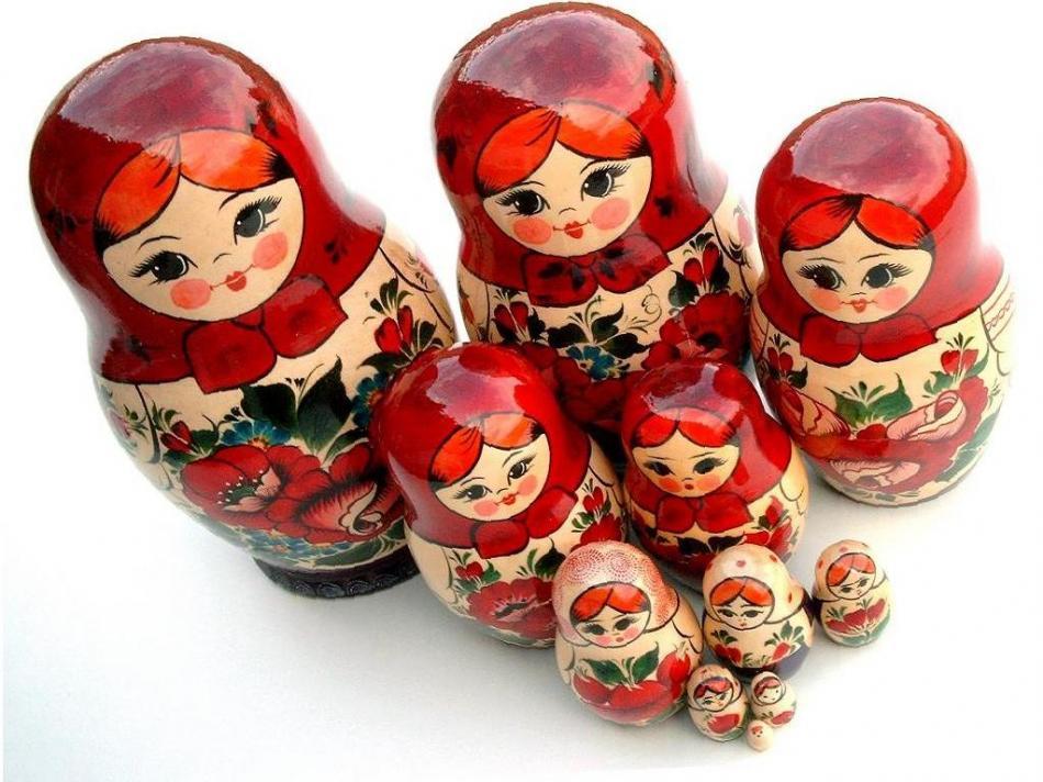 Pamiątki z Rosji