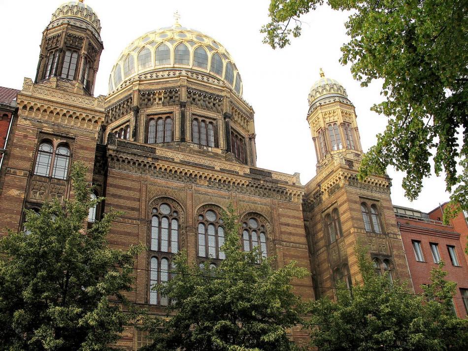 Berlin - Nowa Synagoga w Berlinie
