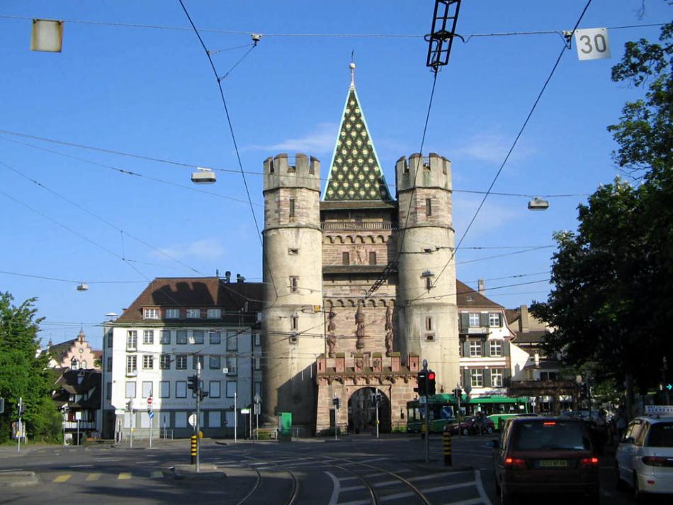 Brama miejska (Spelentor) w Bazylei