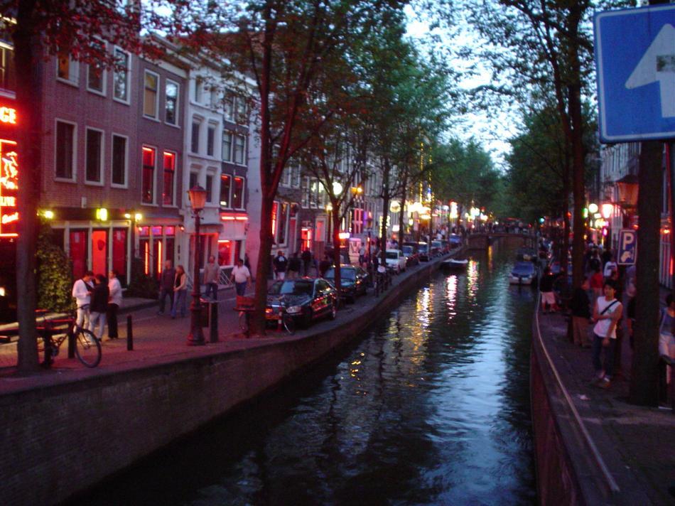 Amsterdam - Dzielnica Czerwonych Latarni