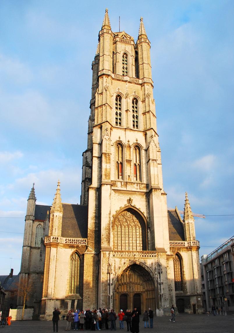 Katedra św. Bawonago miejsca.