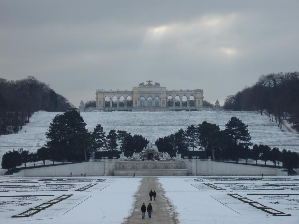 Ogrody i pałac Schonbrunn