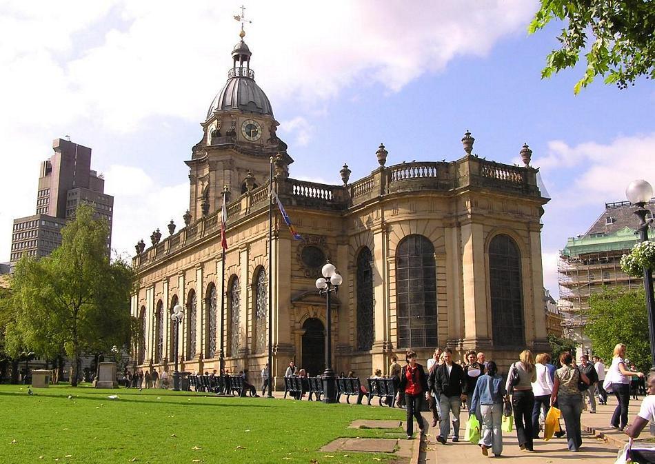 Birmingham - Katedra z XVIII wieku