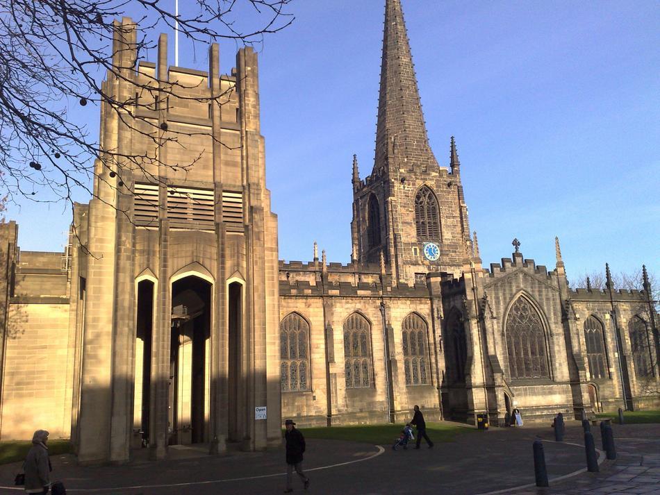Sheffield - katedra zbudowana w XV wieku w stylu gotyckim