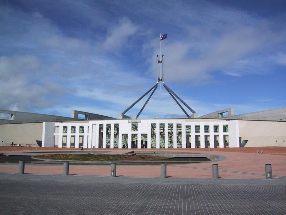 Gmach Parlamentu w Canberze