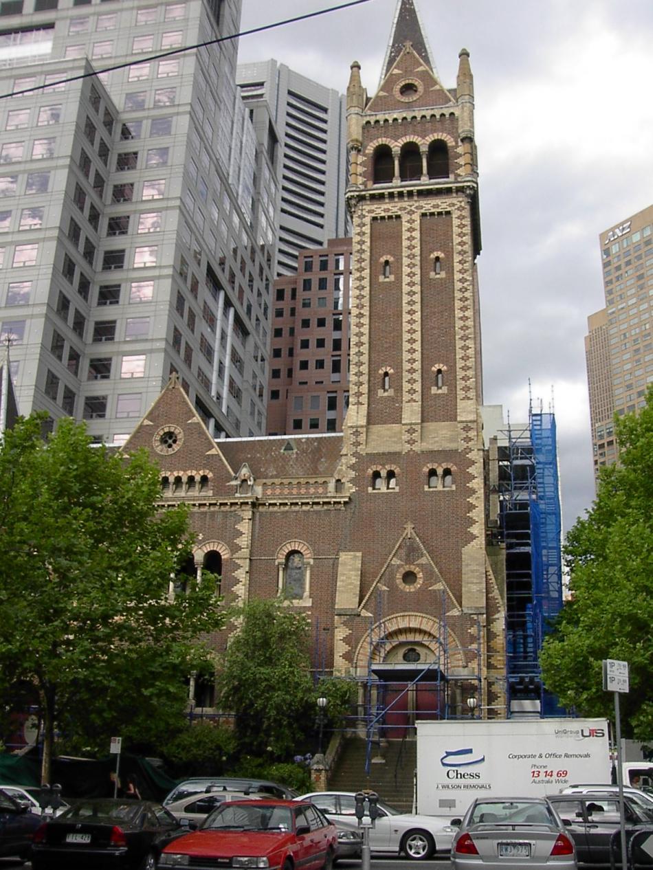 Kościoły przy Collin Street