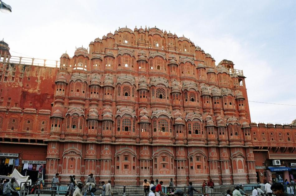 Jaipur - Pałac wiatrów