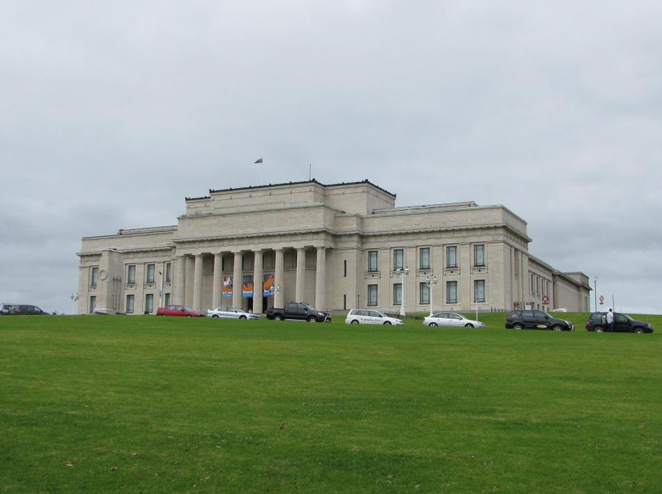 Auckland - Muzeum Wojny w Auckland