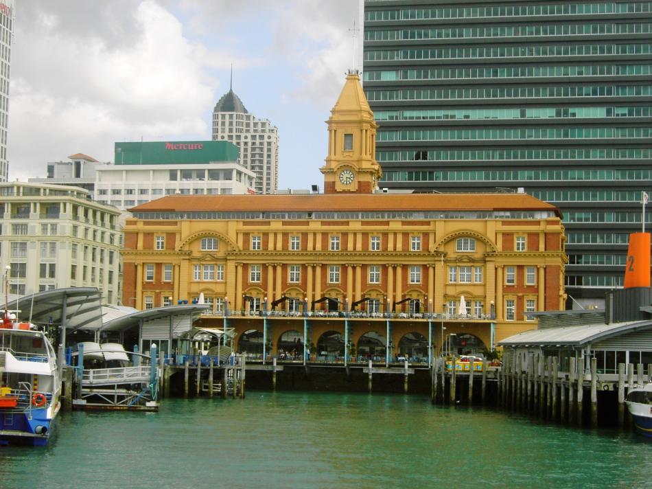 Budynki historyczne z XIX w. W Auckland