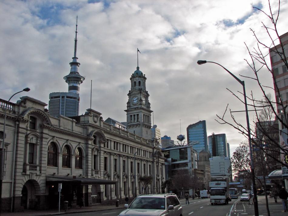 Ratusz w Auckland
