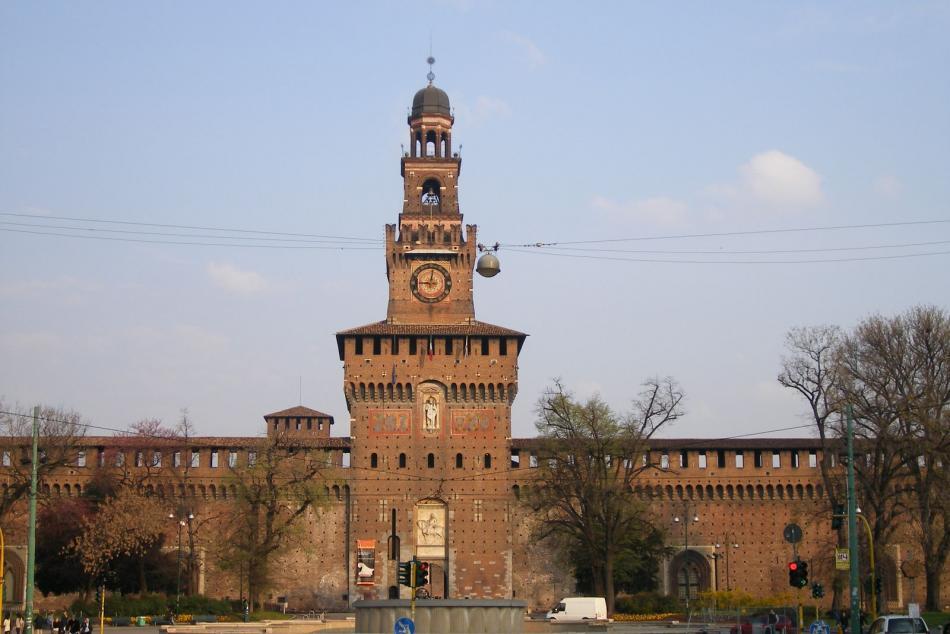 Zamek rodu Sforzów