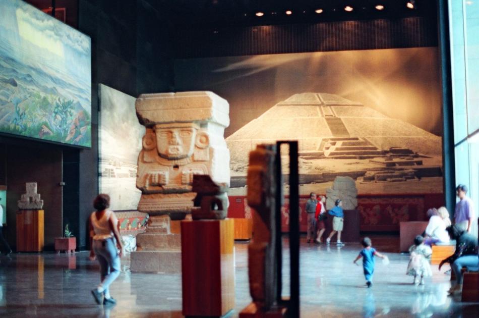 Muzeum Antropologiczne w Meksyku